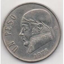 1 песо, Мексика, 1978