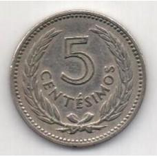 5 сентесимо, Уругвай, 1953