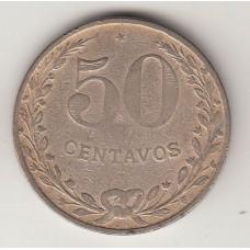 50 сентаво, Колумбия, 1921