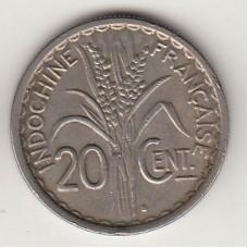 20 сантимов, Французский Индокитай, 1941