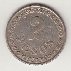 2 песо, Парагвай, 1925