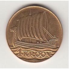 1 крона, Эстония, 1990