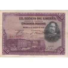 50 песет, Испания, 1928