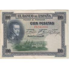 100 песет, Испания, 1925
