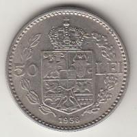 50 лей, Румыния, 1938