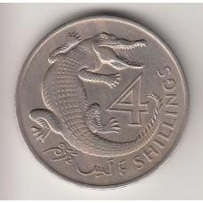4 шиллинга, Гамбия, 1966