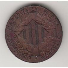 5 сентимо, Испания (Каталония), 1900