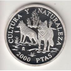 2000 песет, Испания, 1996