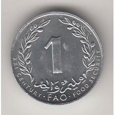1 мильем, Тунис, 2000