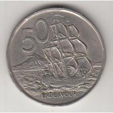 50 центов, Новая Зеландия, 1967