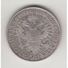 20 крейцеров, Австрия, 1834