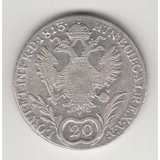 20 крейцеров, Австрия, 1813