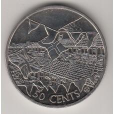 50 центов, Острова Кука, 2002