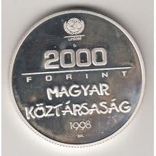 2000 форинтов, Венгрия, 1998