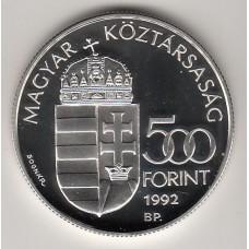500 форинтов, Венгрия, 1992