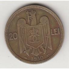 20 лей, Румыния, 1930