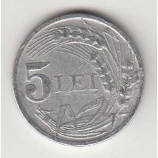 5 лей, Румыния, 1947