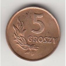 5 грошей, Польша, 1949