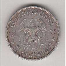5 рейхсмарок, Германия, 1935 (н)