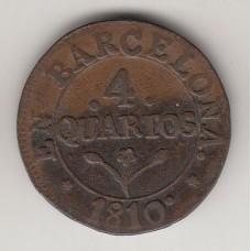 4 кварта, Каталония, 1810