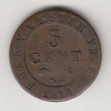 3 сантима, Вестфалия, 1810