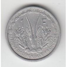 1 франк, Французская Западная Африка, 1948