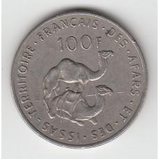100 франков, Французская Территория Афаров и Исса, 1970