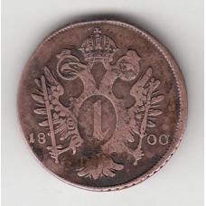 1 крейцер, Австрия, 1800