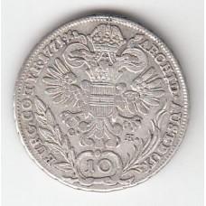 10 крейцеров, Австрия, 1771