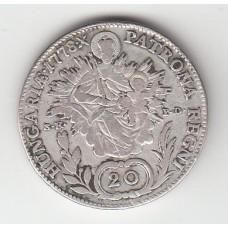 20 крейцеров, Австрия (Венгрия), 1778