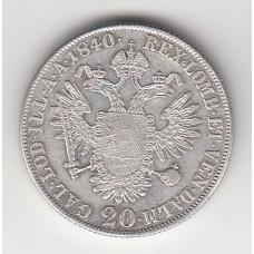 20 крейцеров, Австрия, 1840