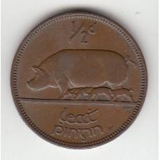 1/2 пенни, Ирландия, 1953