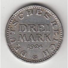 3 марки, Германия, 1924