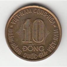 10 донгов, Южный Вьетнам, 1974