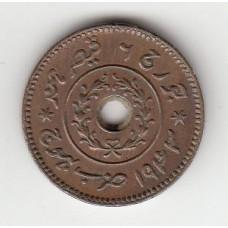 1 дхигло (1/16 кори), Кач (Индия), 1943