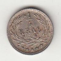 1/4 реала, Гватемала, 1900