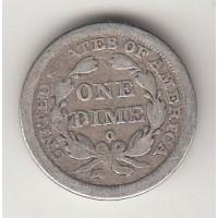 1 дайм, США, 1842