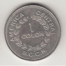 монета 1 колон, Коста-Рика, 1976год , стоимость , цена