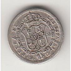 1 реал, Испания, 1838