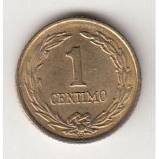 монета 1 сентимо, Парагвай, 1950год , стоимость , цена