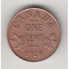 1 цент, Канада, 1928, albonumismatico.su