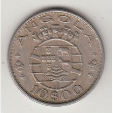 10 эскудо, Ангола, 1970