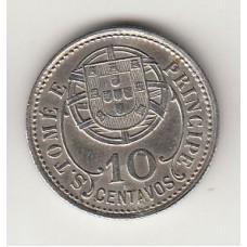 10 сентаво, Сан-Томе и Принсипи, 1929albonumismatico.su