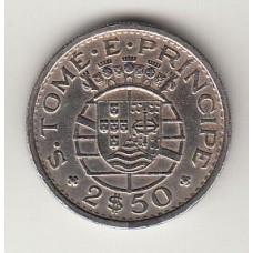 2,5 эскудо, Сан-Томе и Принсипи, 1971albonumismatico.su