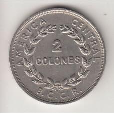 монета 2 колона, Коста-Рика, 1978год , стоимость , цена