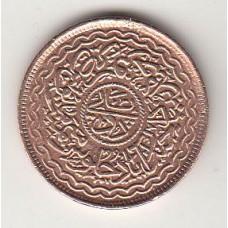 монета 2 пая, Индия - Хайдарабад, 1911год , стоимость , цена