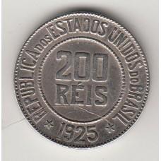 200 рейсов, Бразилия, 1925, albonumismatico.su