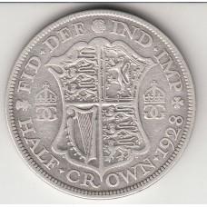 1/2 кроны, Великобритания, 1928
