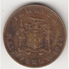 1/2 пенни, Ямайка, 1966, пенни, Ямай&E