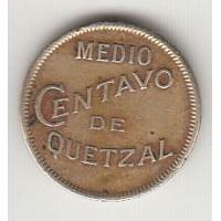 1/2 сентаво, Гватемала, 1932